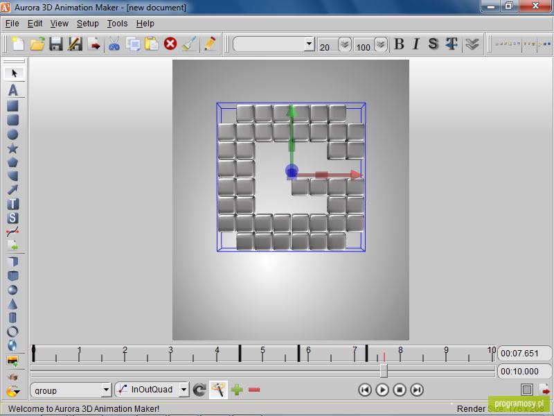 Galeria zdj zrzuty ekranu screenshoty aurora 3d 3d animation maker