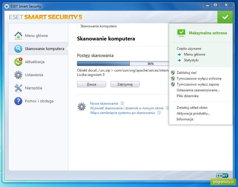 15 дек 2012 NOD32 Smart Security - пакет программ для комплексной