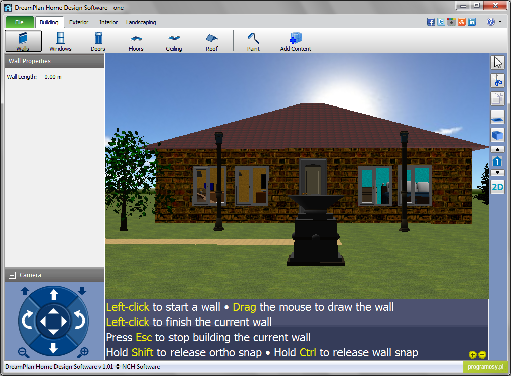 Download free software home design nixlogistics for Web based interior design software