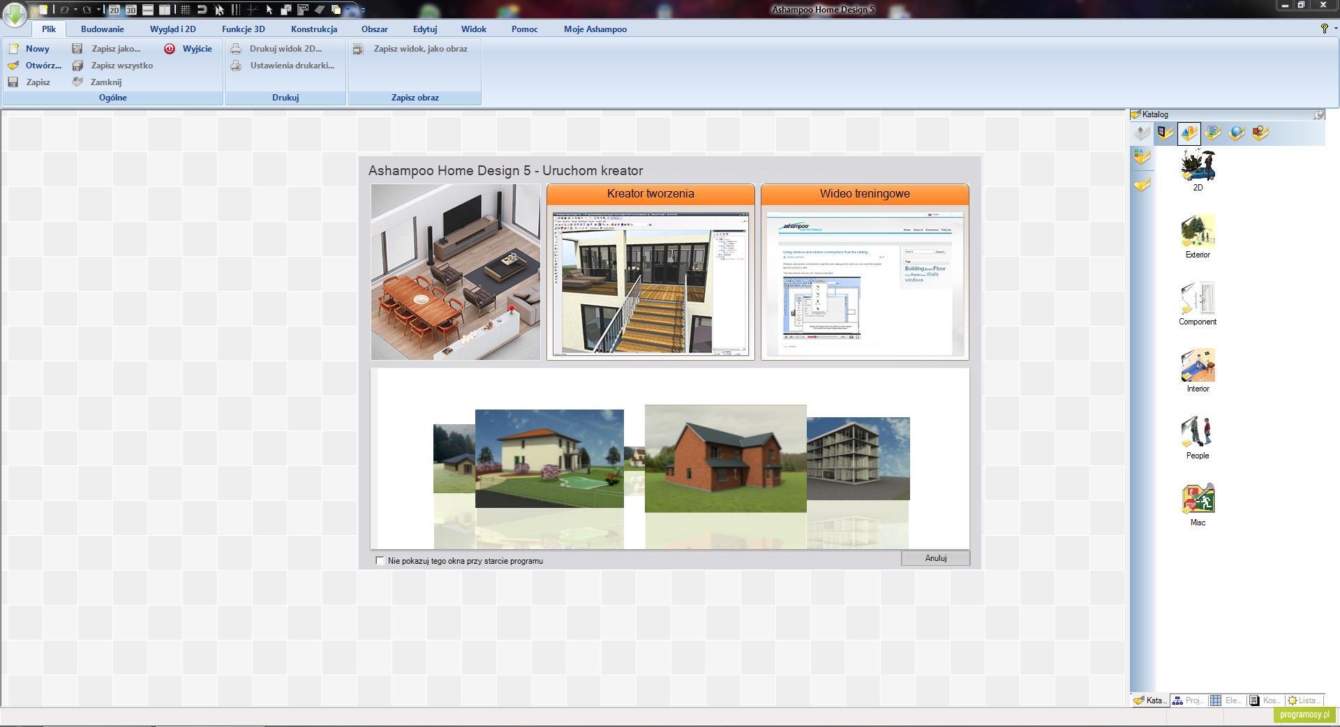 Galeria zdjęć | Zrzuty ekranu | Screenshoty - Ashampoo Home Designer Pro
