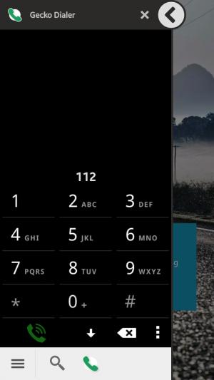 Gecko Dialer - Launcher kontaktów telefonicznych oraz wyszukiwarki