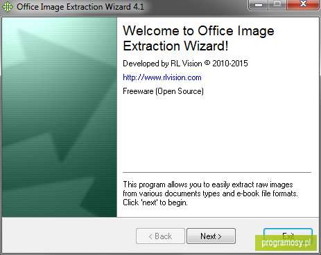 Office Image Extraction Wizard Portable