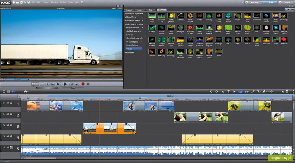 galeria zdję� zrzuty ekranu screenshoty magix movie
