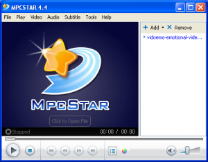 MPCSTAR  Play all your Movies and Music!