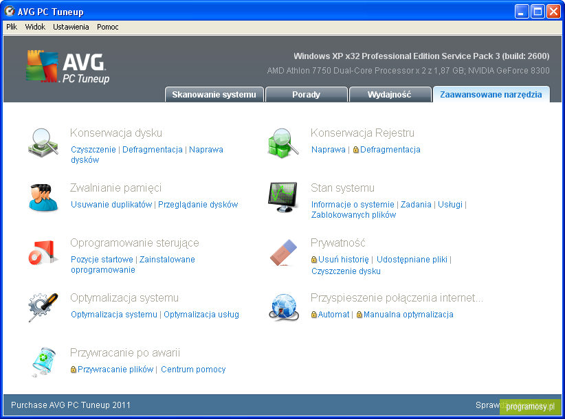 AVG PC Tuneup 2011 10.0.0.20 /Portable/ PL